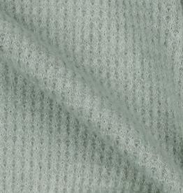 Soft Waffle - Mint Grey