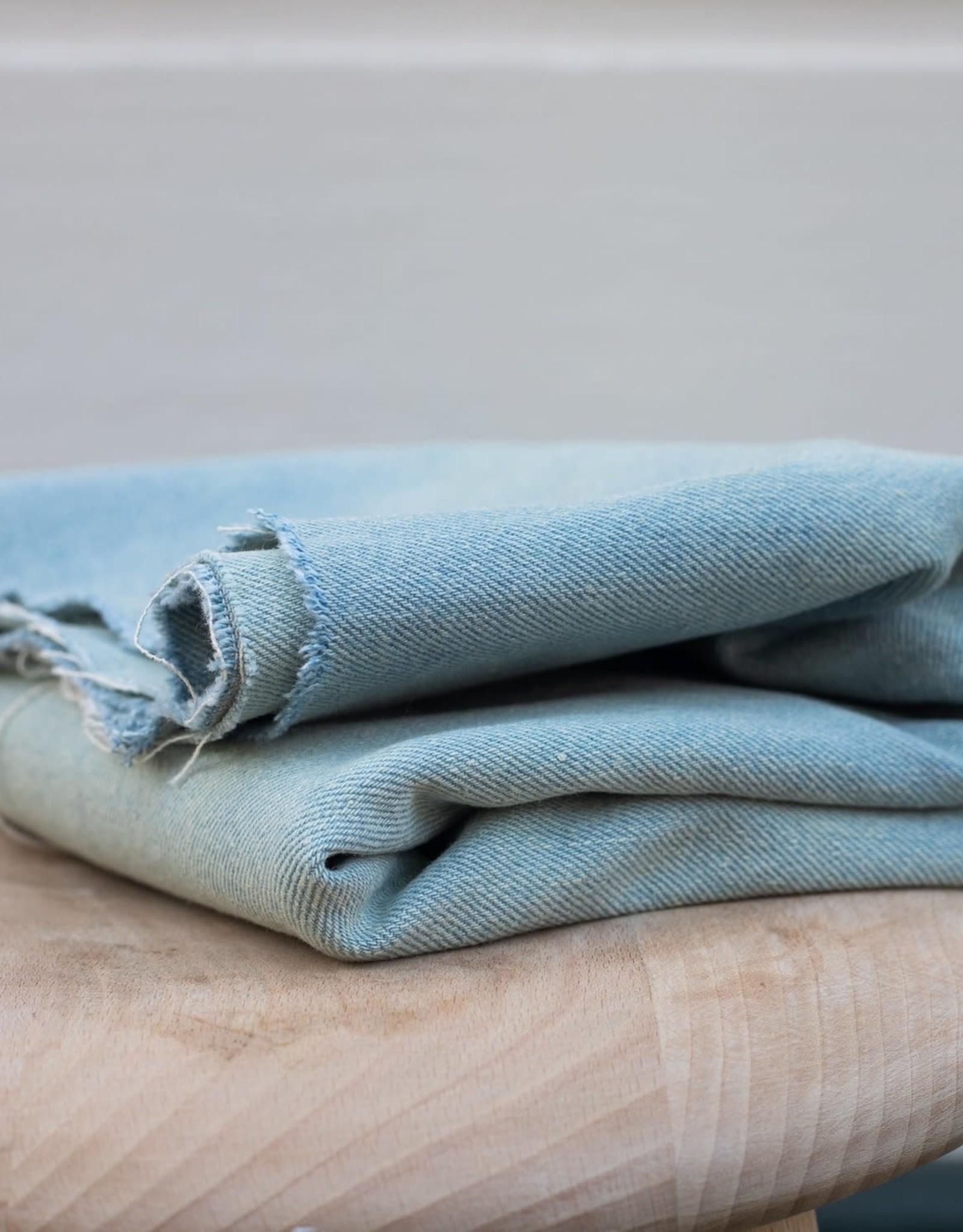 Mind The Maker Mind The Maker - Heavy Washed Denim - Light Blue