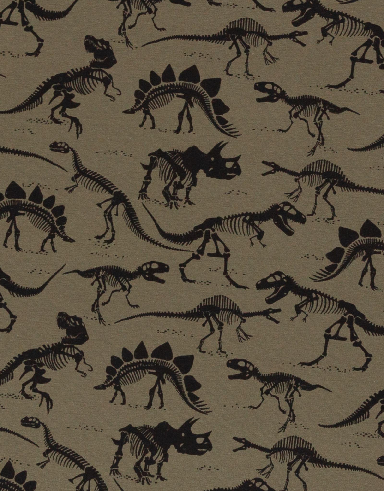 Tricot - Dinoskelette Khaki