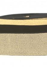 Glitterelastiek  Soft 40mm - Rose Gold