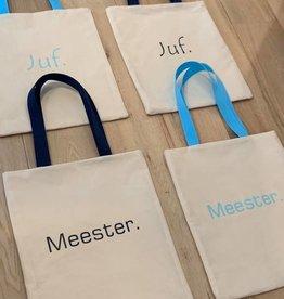 Strijkapplicatie JUF. of MEESTER.