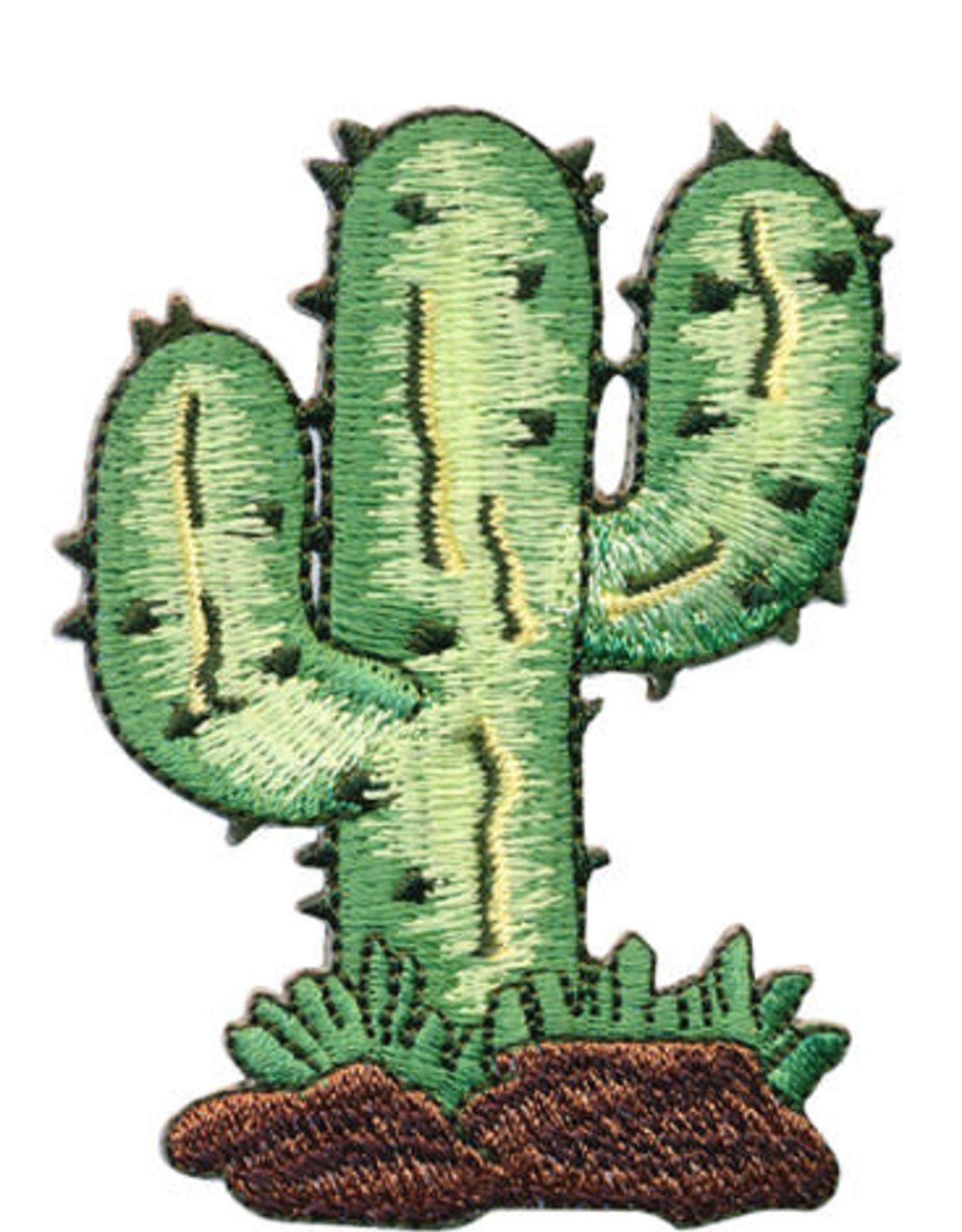 Strijkapplicatie Cactus Light Green