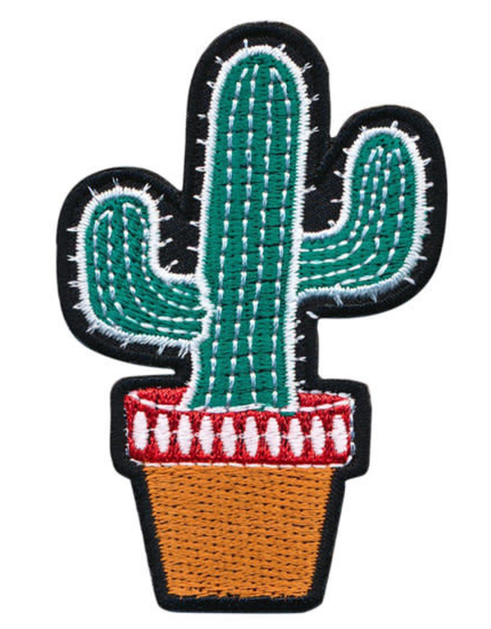 Strijkapplicatie Cactus Cool