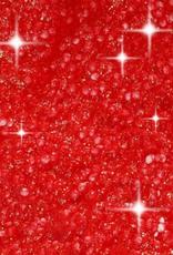 Paspel Glitter - Rood