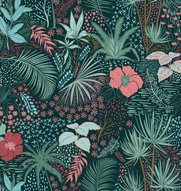 Tricot - Palms Black