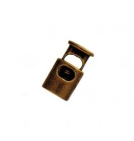 Koordstopper 1-gaats - Brons