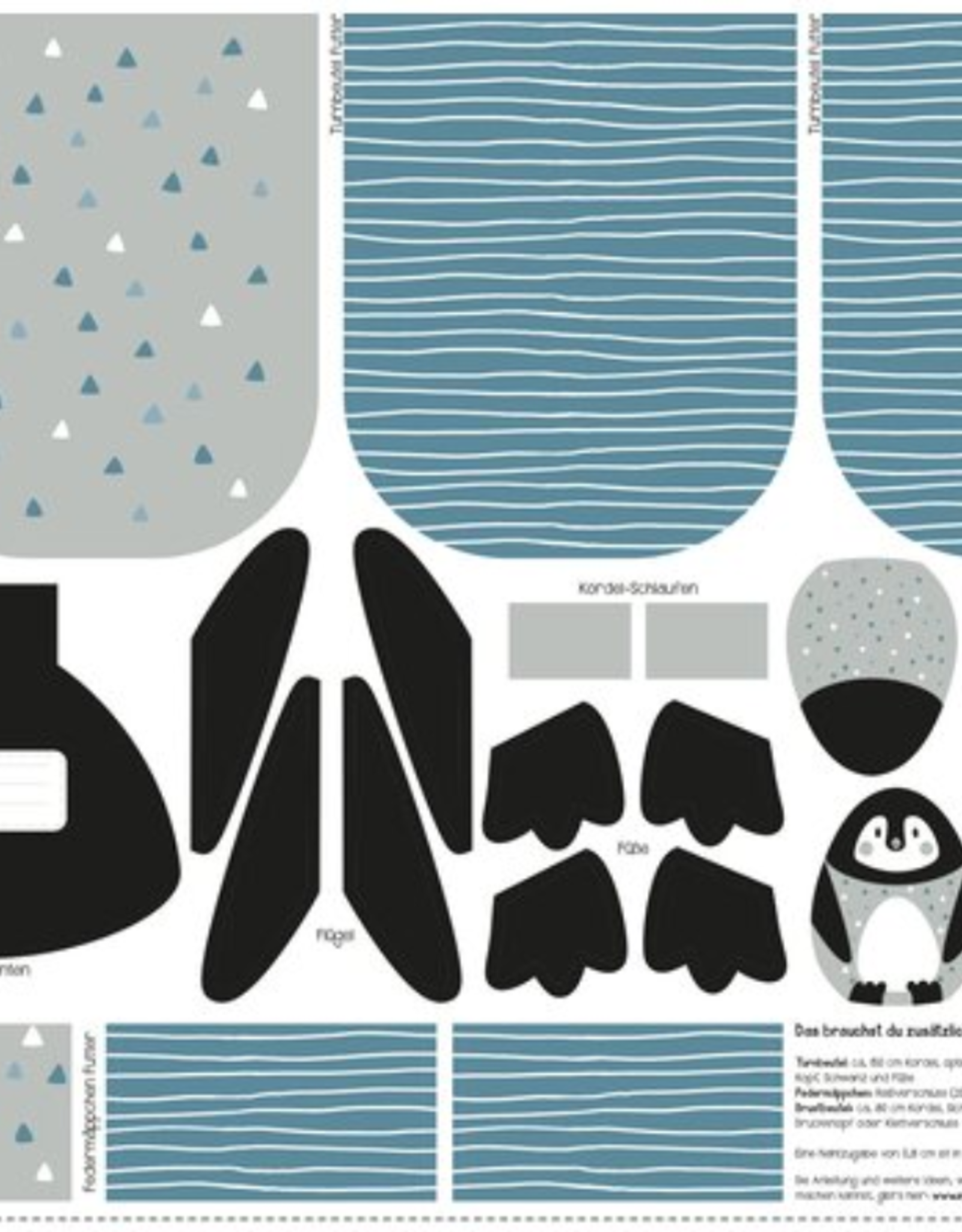 Deco - Paneel Pinguïn