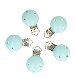 Houten Speenklem - Baby Blauw