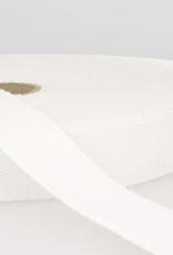 Tassenband - Wit - 25mm