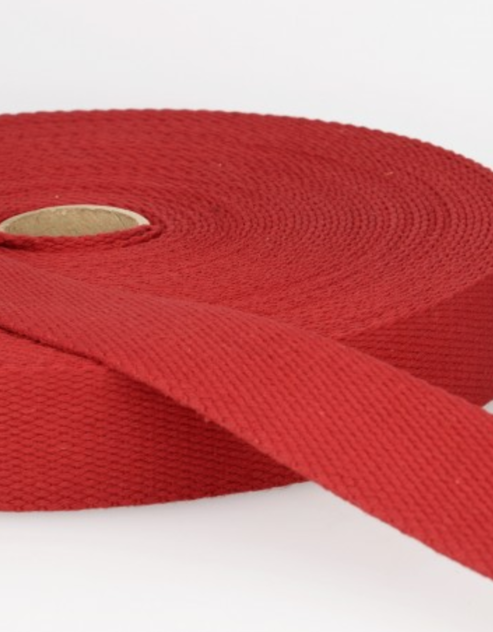 Tassenband - Donkerrood - 25mm
