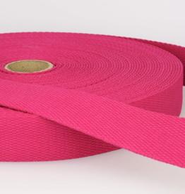 Tassenband - Fuchsia - 25mm