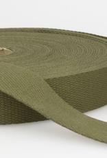 Tassenband - Khaki - 25mm