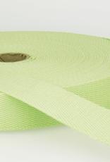 Tassenband - Zacht Lime - 25mm