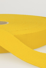 Tassenband - Geel - 25mm
