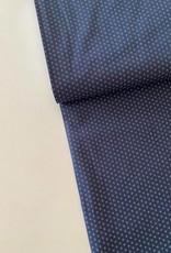 Katoen - Hemdenstof Marineblauw Flor