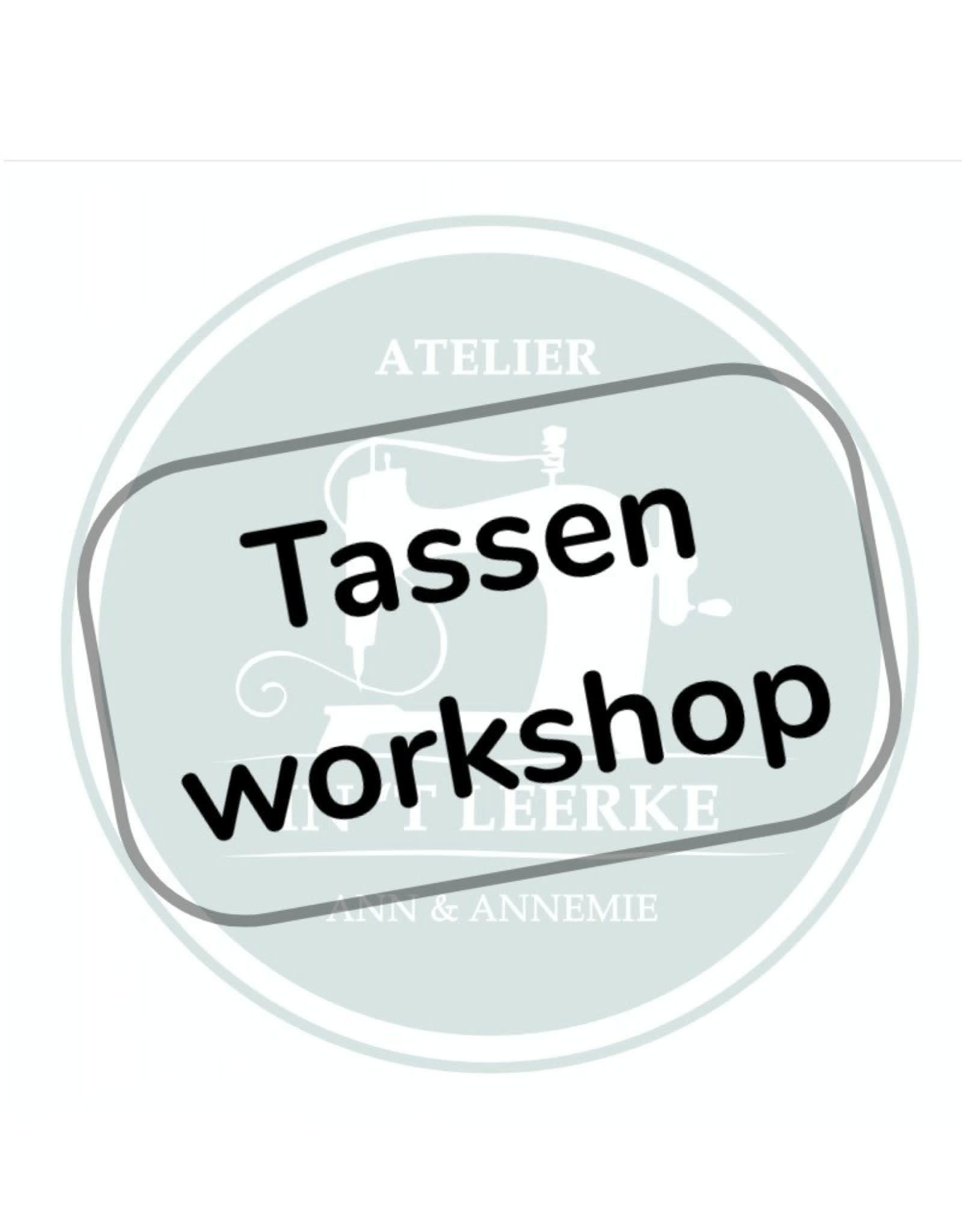 Tassenworkshop - Zaterdag 20 november 2021