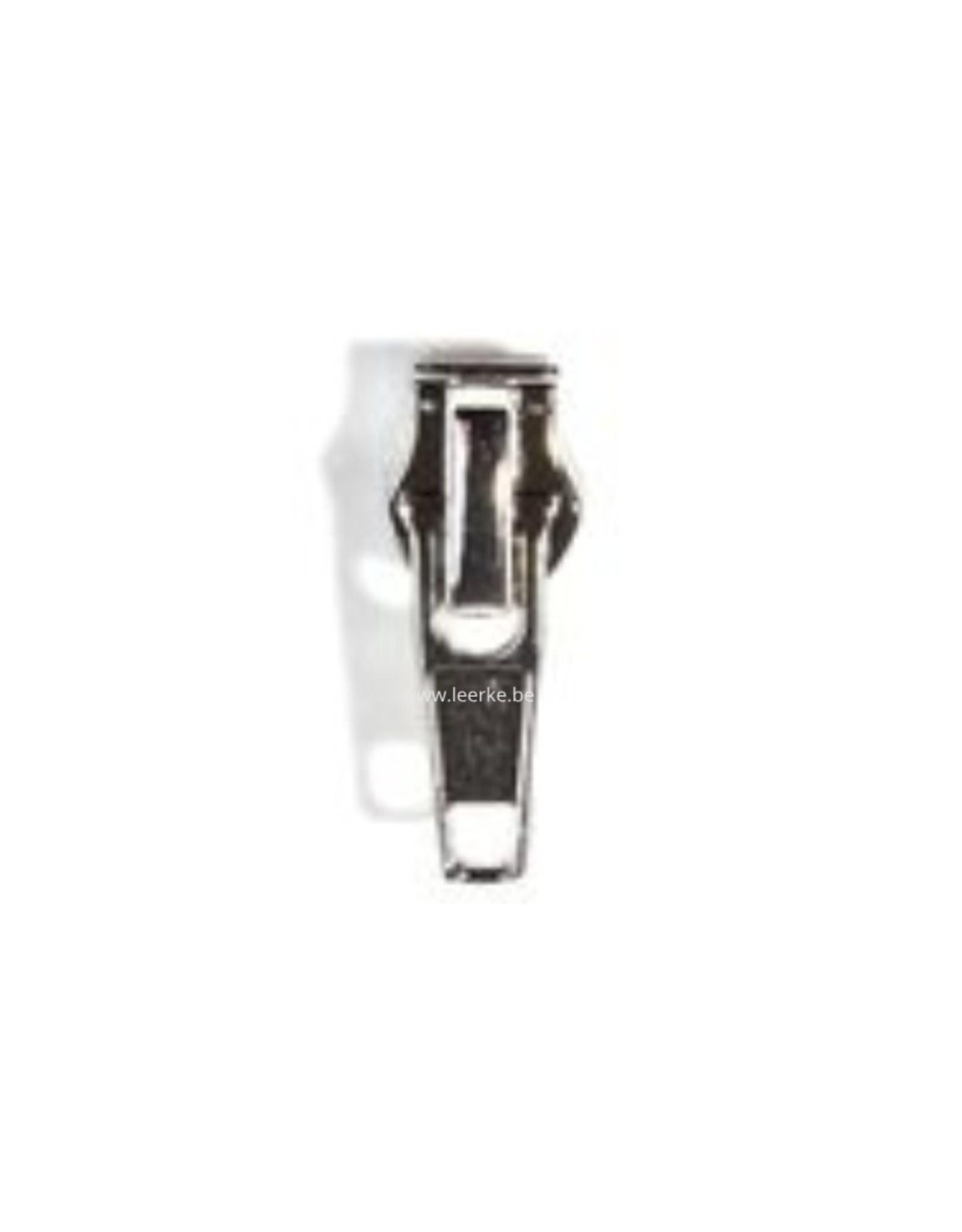 Ritstrekker Zilver - Size 6,5