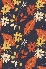 Viscose - Leaves Rust