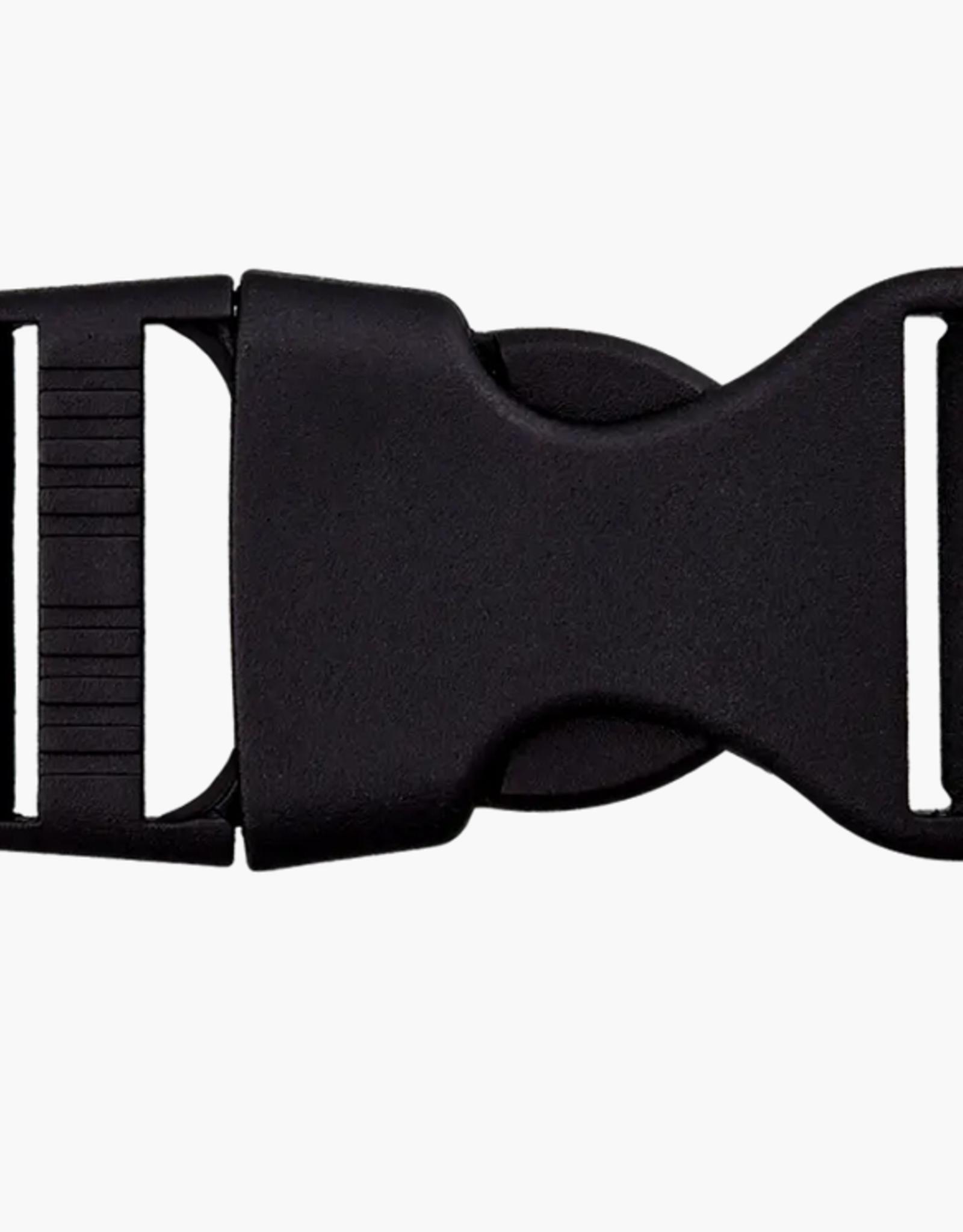 Klikgesp 25mm - Zwart