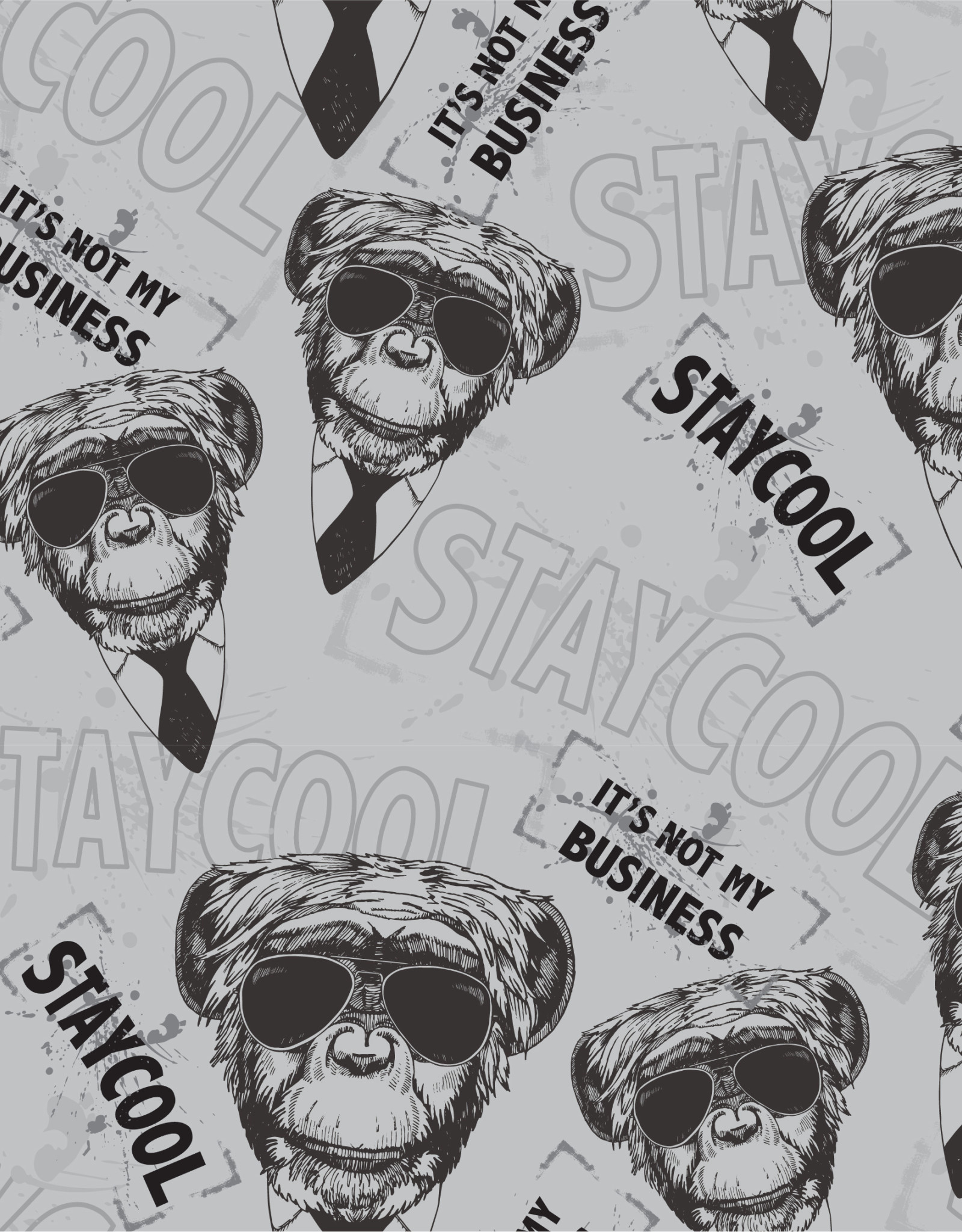 French Terry - Stay Cool Monkey