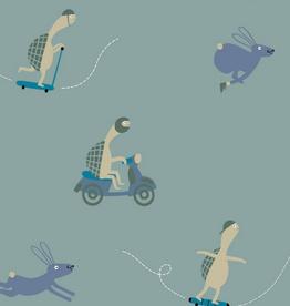 Katia Fabrics Tricot - Tortoise and the hare