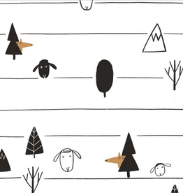 Katia Fabrics Tricot - The Black Sheep