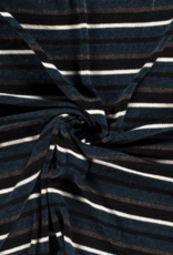 Chenille - Stripes Blue