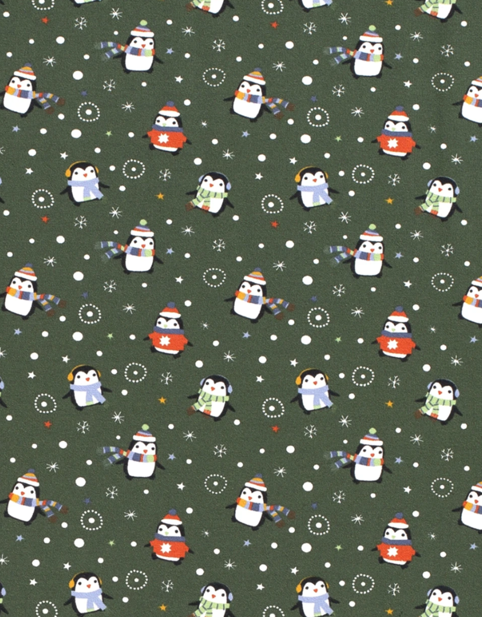 Tricot - Merry Pingu Green
