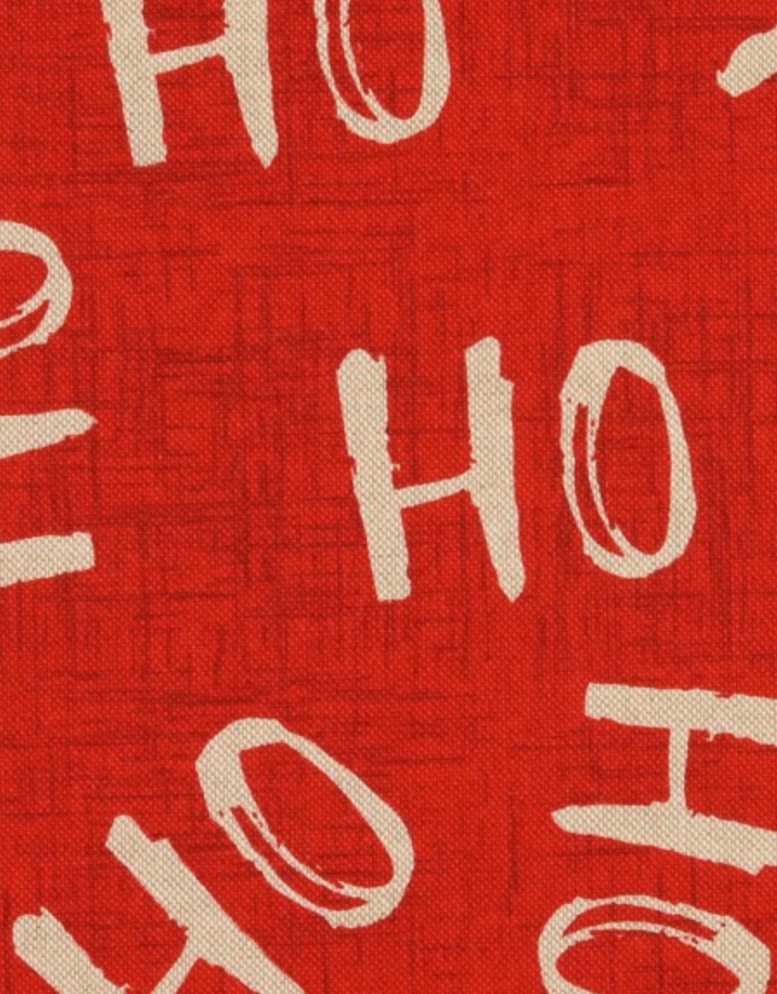 Canvas - HO HO HO red