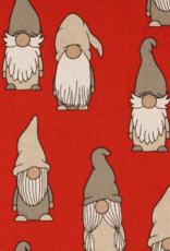 Canvas - Gnomes Red