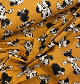 Tricot - Minnie Mouse Donkergeel