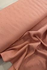 Viscose - Drops Lurex Pink