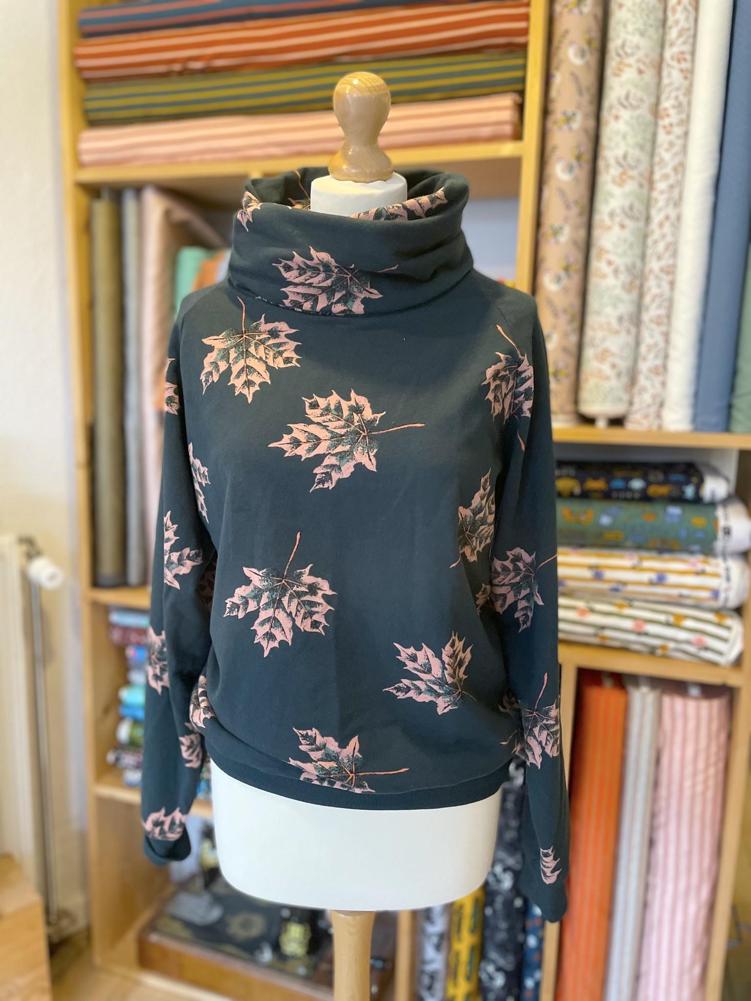 Een Isa-sweater MET hoge col!