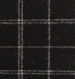 Paneel Tweed  - Zwart - 150cm x 150cm