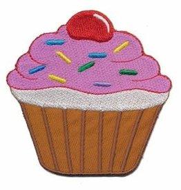 Strijkapplicatie Cupcake