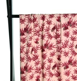 Atelier Jupe Atelier jupe - Viscose met kraanvogels