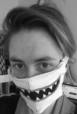 Maskie mondkapje door Una Jongenelis