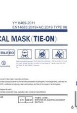 Feilikan Masque chirurgical IIR avec bretelles (à nouer)