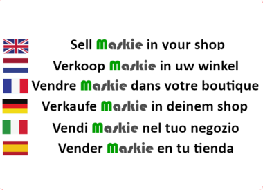 Would you also like to sell Maskie?