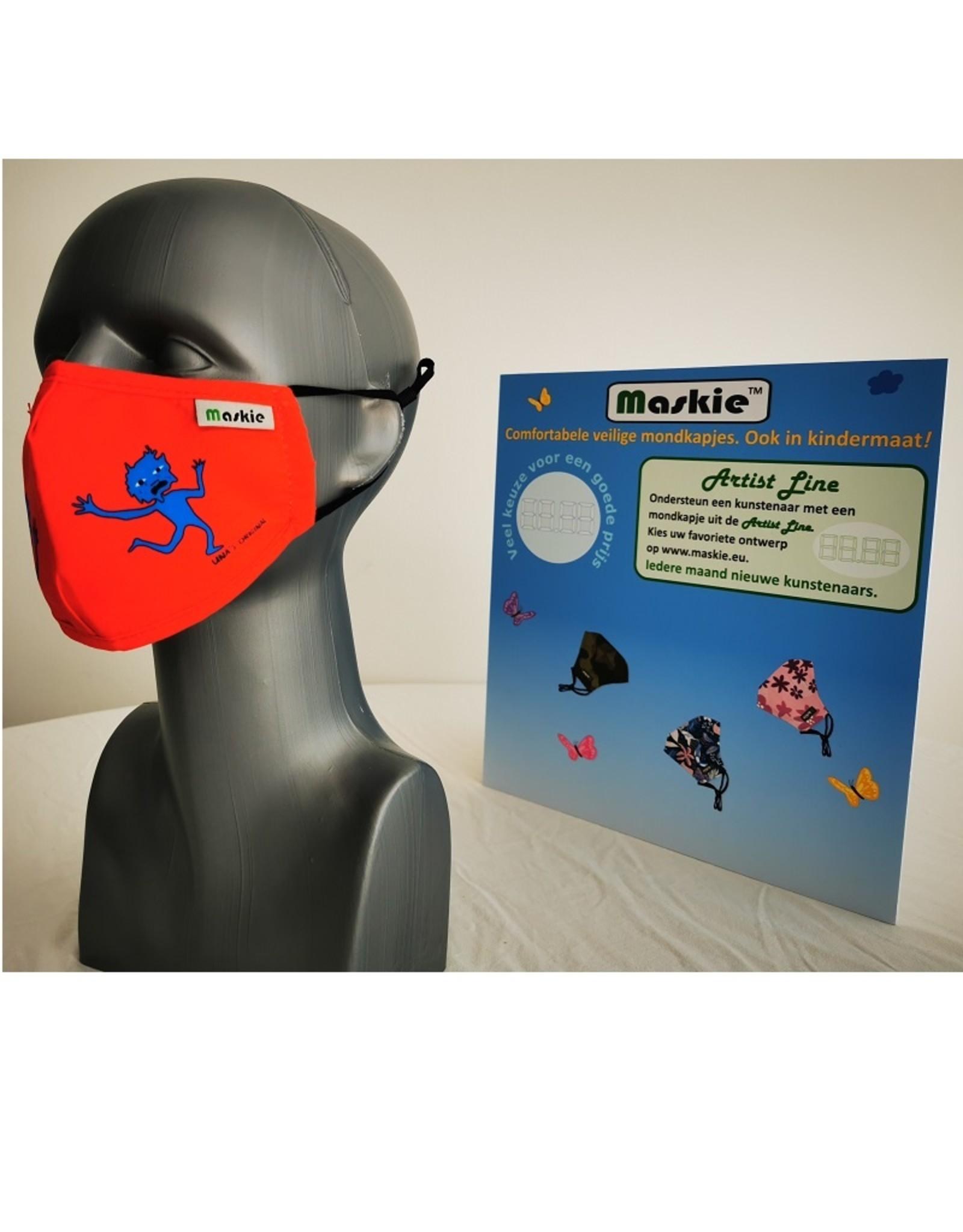 Maskie Buccaux our des gamins par Una Jongenelis