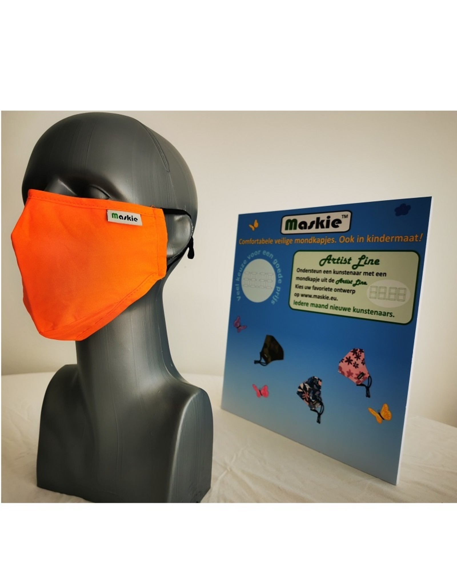 Maskie Buccaux: Orange solide