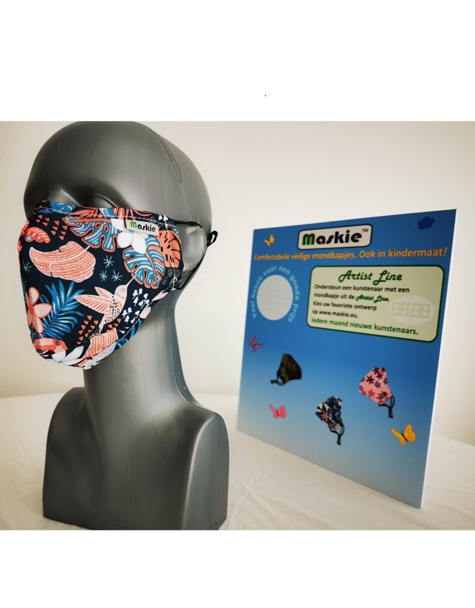 Maskie Buccaux: Oiseaux de la jungle