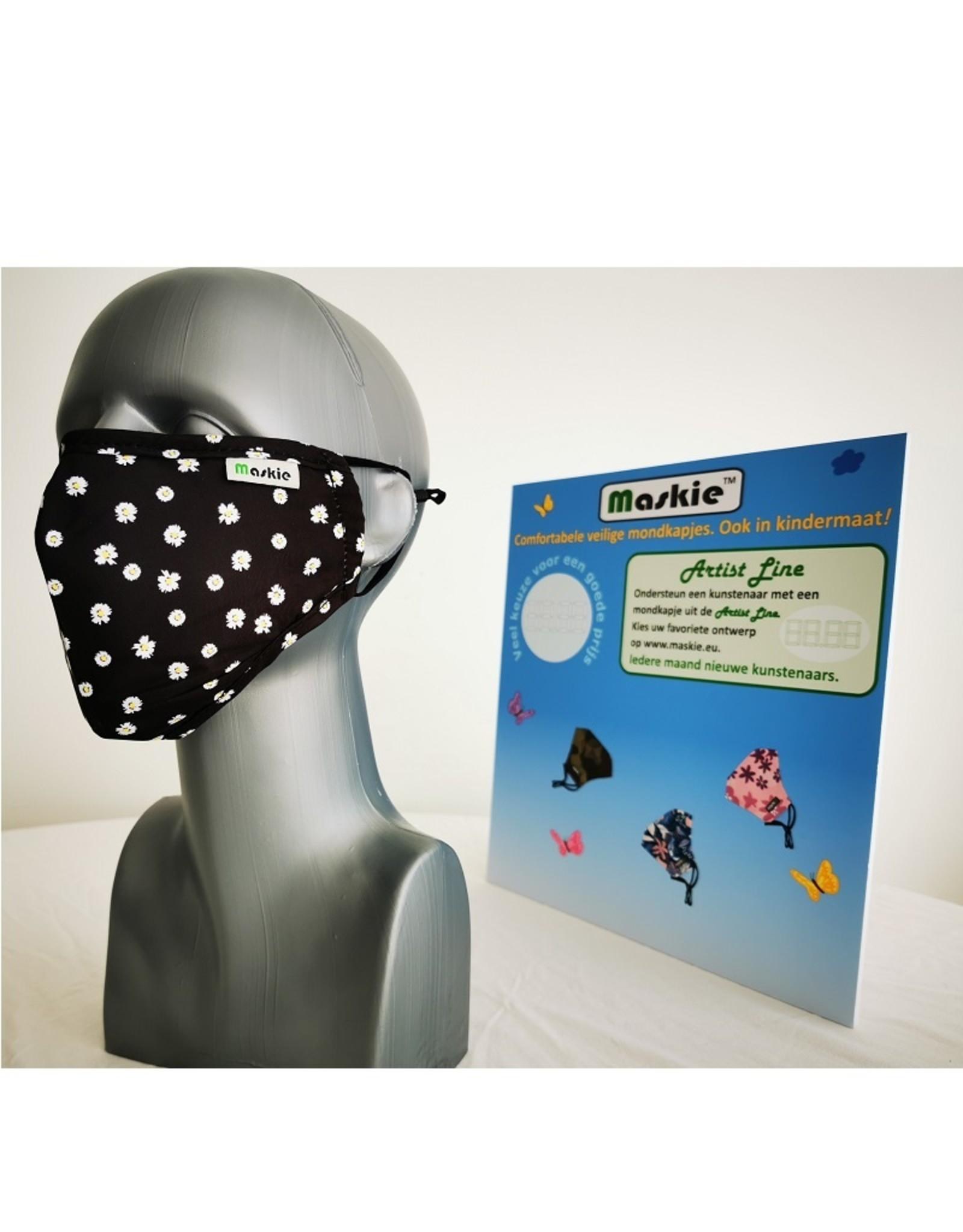 Maskie mask: Daisies