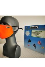 Maskie mask: Solid orange  for kid.
