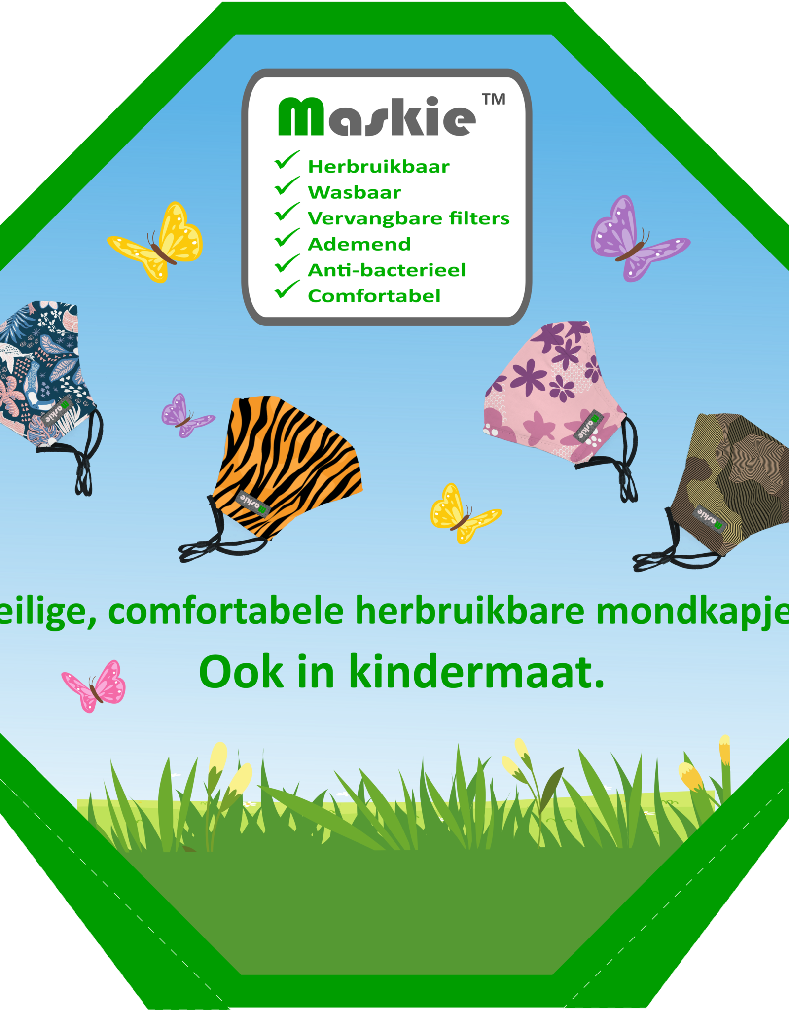 Maskie Maskie mill - 80 Maskie masks + BONUS 18 Artist Line (until November 7)