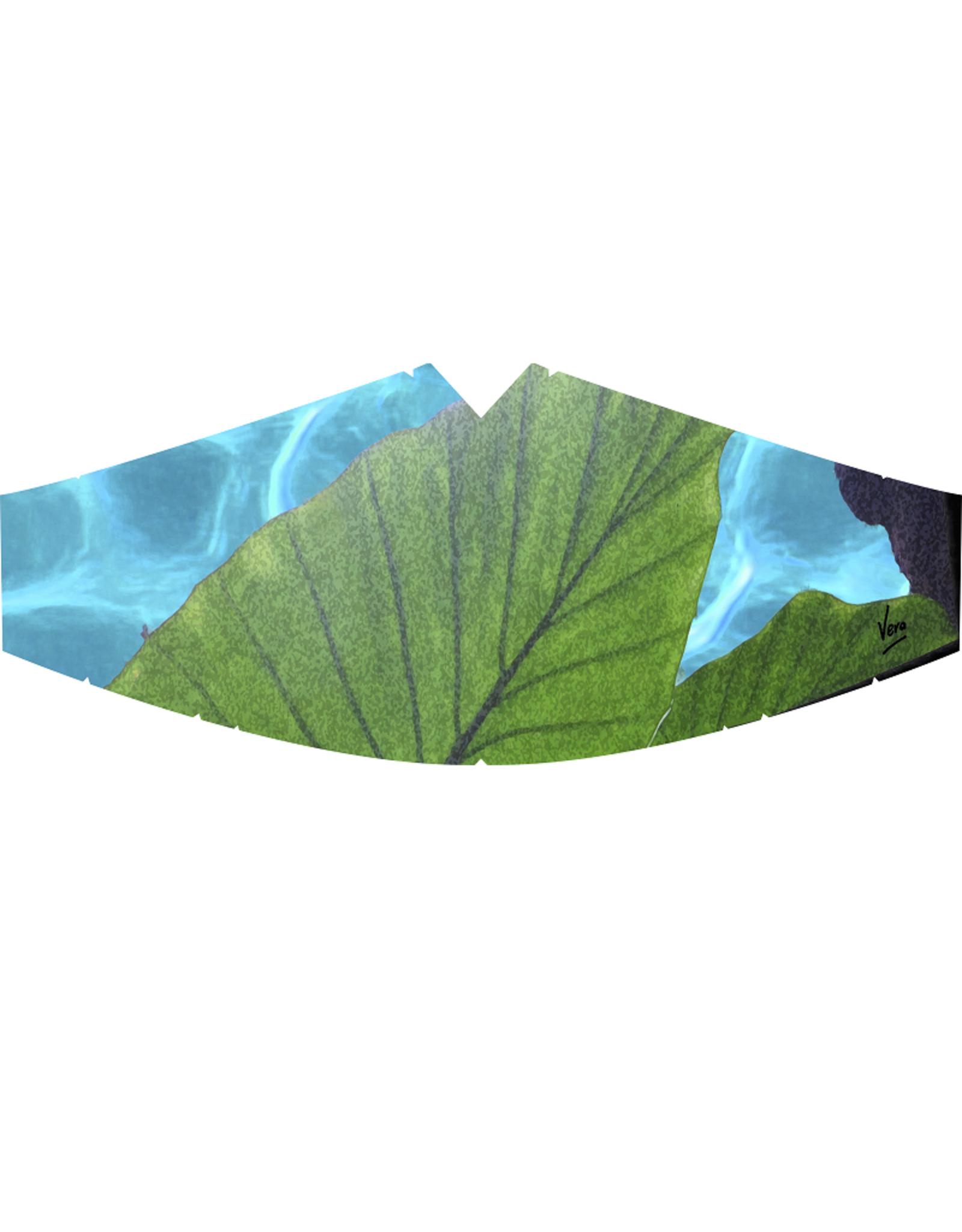 Leaf - mondkapje door Vera Zegerman