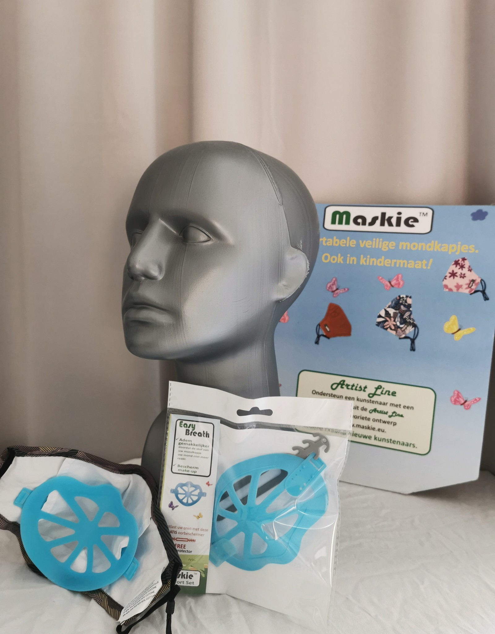 Ensemble confort de masque facial pour une respiration facile