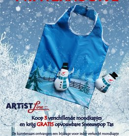 FREE: Snowman bag - foldable