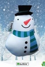 GRATIS: Sneeuwpop tas - opvouwbaar