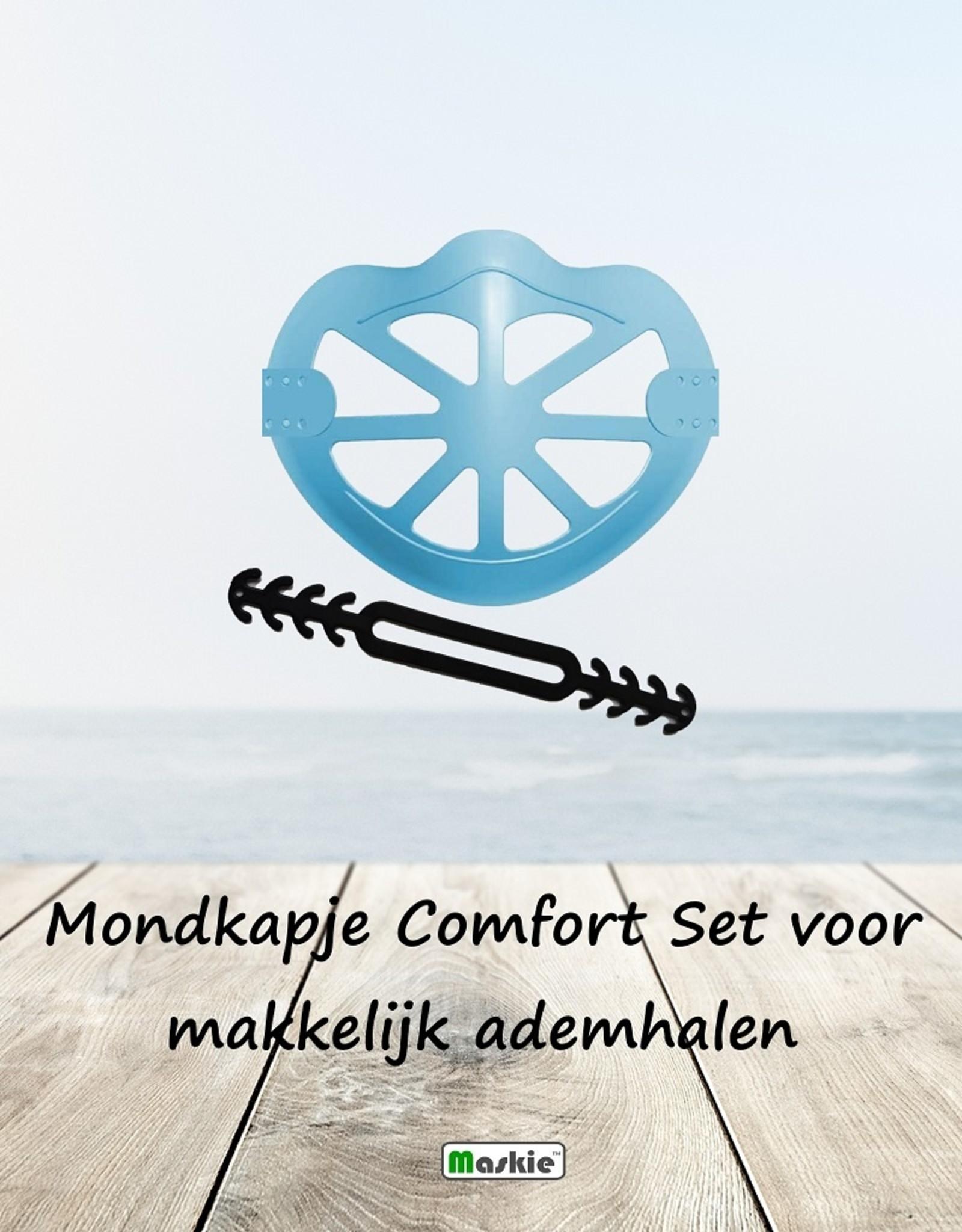 Mondkapje Comfort Set voor makkelijk ademhalen